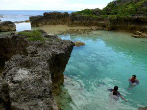 Swimming in Limu pools